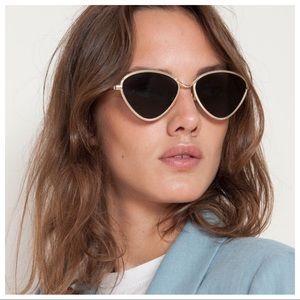 LE SPECS Bazaar 56mm Modified Cat Eye Sunglasses